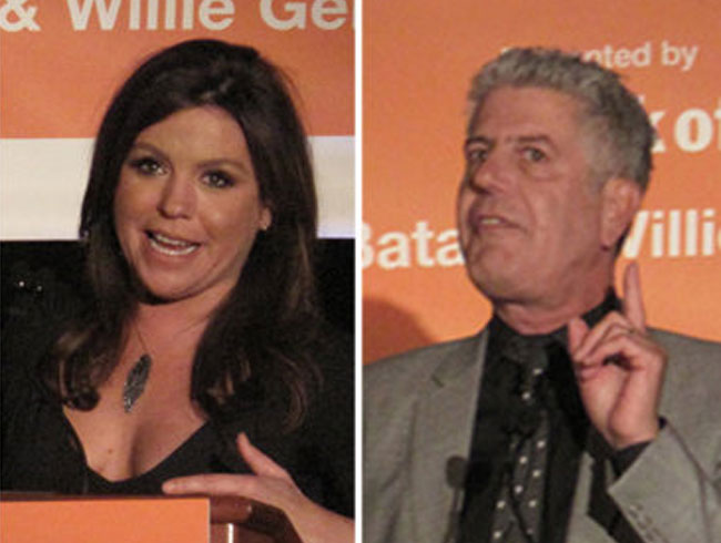Rachael Ray Gets Really Dirty At Anthony Bourdain's Roast