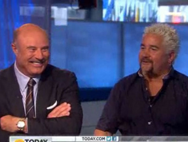 Dr. Phil Reveals That The <em>NYT</em> Threw A Party At Guy' Fieri's Restaurant