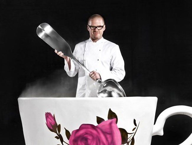 Heston Blumenthal's Obsession With GIANT FOODS