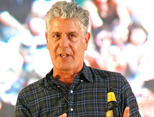 Man of the Hour, Anthony Bourdain