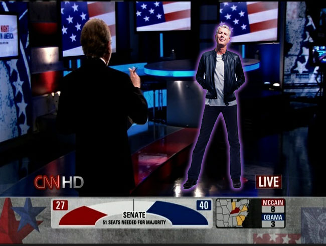 CNN's Hologram Room