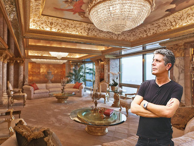 Donald Trump's Gold Apartment