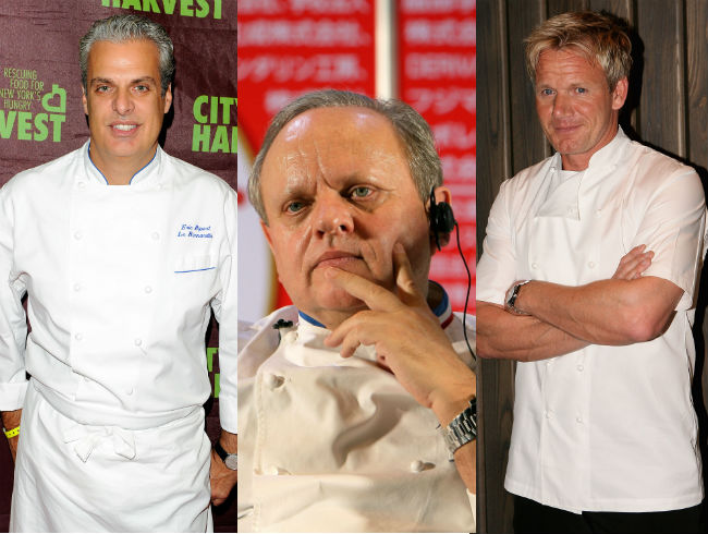 Joel Robuchon: Eric Ripert and Gordon Ramsay