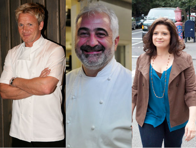 Guy Savoy: Gordon Ramsay and Alex Guarnaschelli