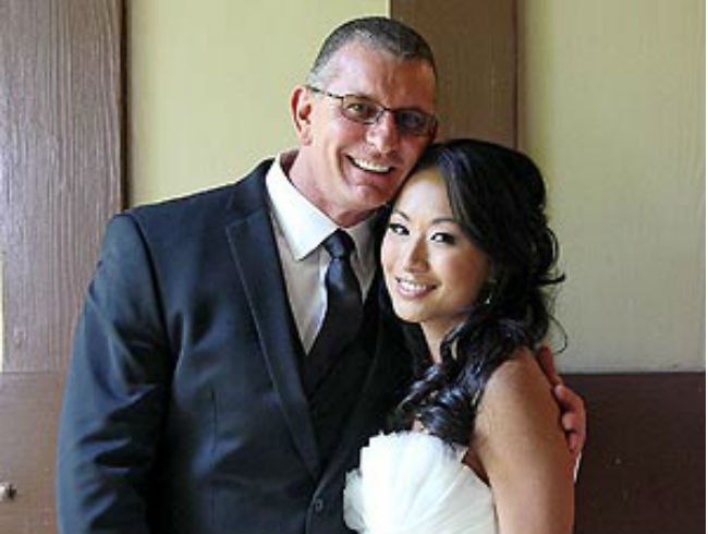 Robert Irvine and Gail Kim