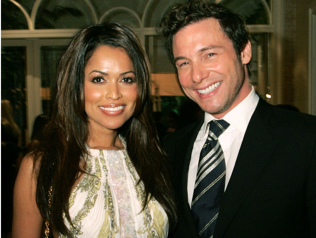 Rocco DiSpirito and Tracey Edmonds