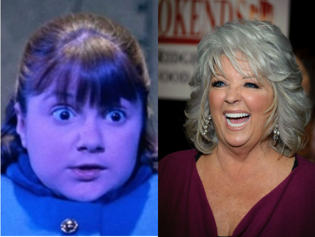 Paula Deen as Violet Beauregarde