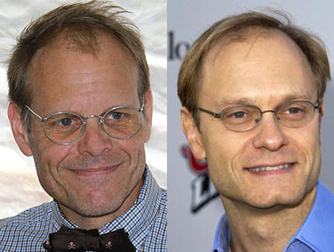 Alton Brown = David Hyde Pierce