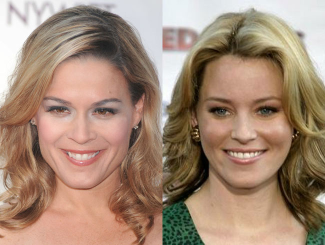 Cat Cora = Elizabeth Banks