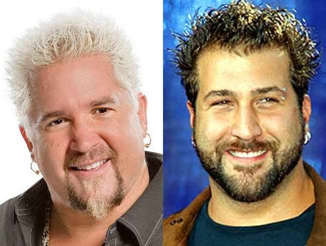 Guy Fieri = Joey Fatone