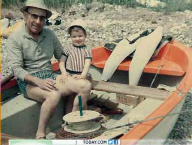 Tiny Eric Ripert On A Boat