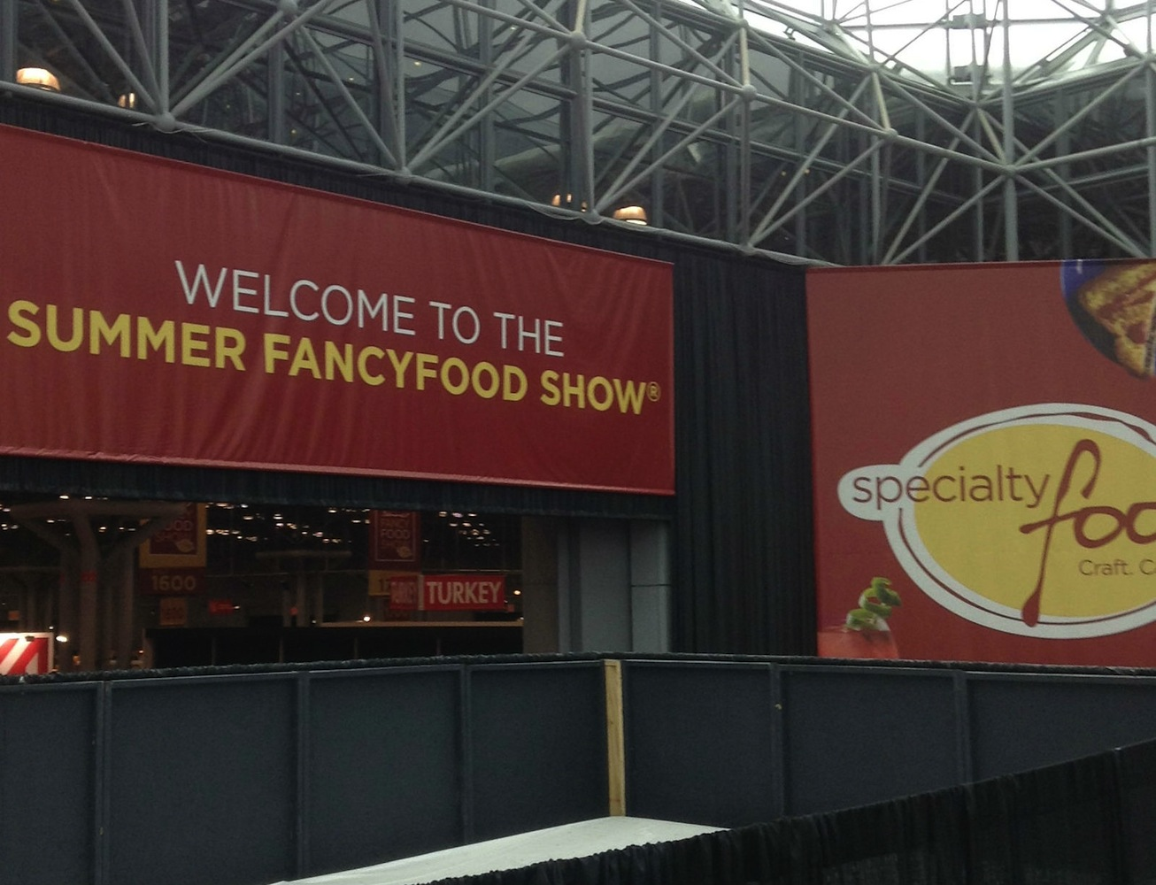 Welcome to the 2013 Fancy Food Show