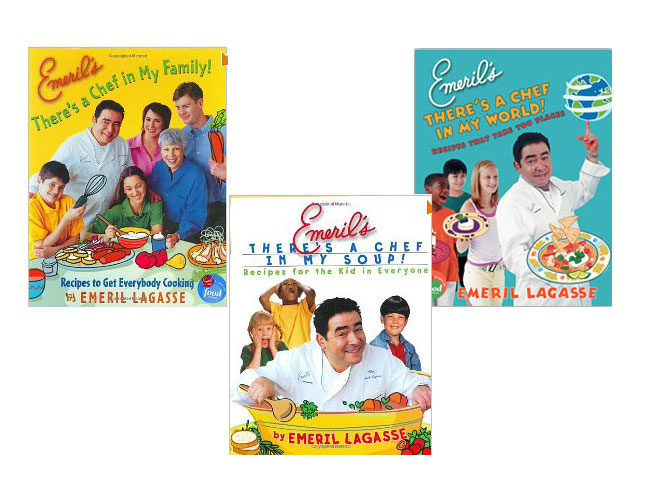 Emeril Lagasse's <i>There's A Chef In My ______!</i> Series