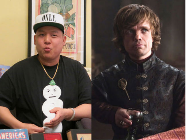 Eddie Huang | Tyrion Lannister
