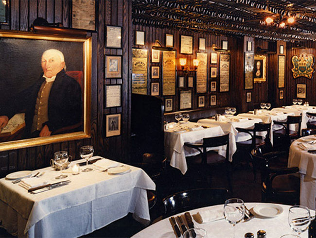 Keens Steakhouse, NYC