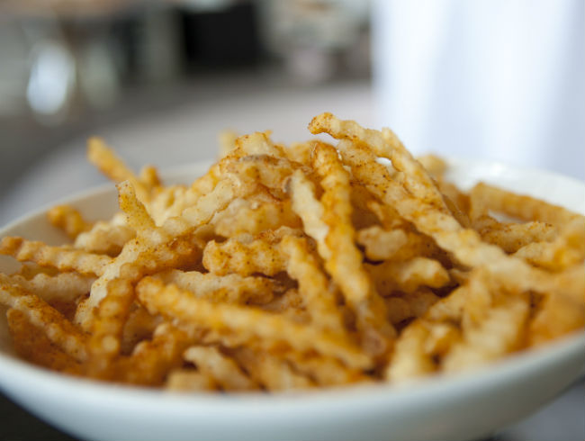 Pete Ciarrocchi's Crab Fries