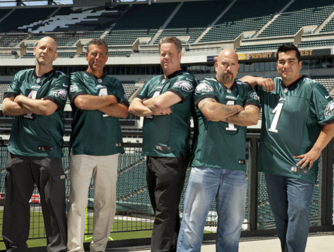 The Chefs Of Lincoln Financial Field