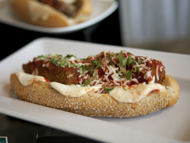Peter McAndrews' Meatloaf Parmesan