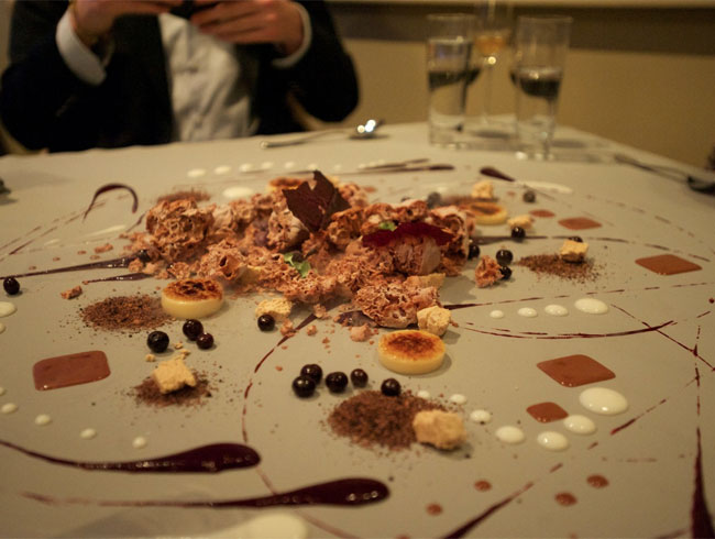 Tableside Dessert at Alinea