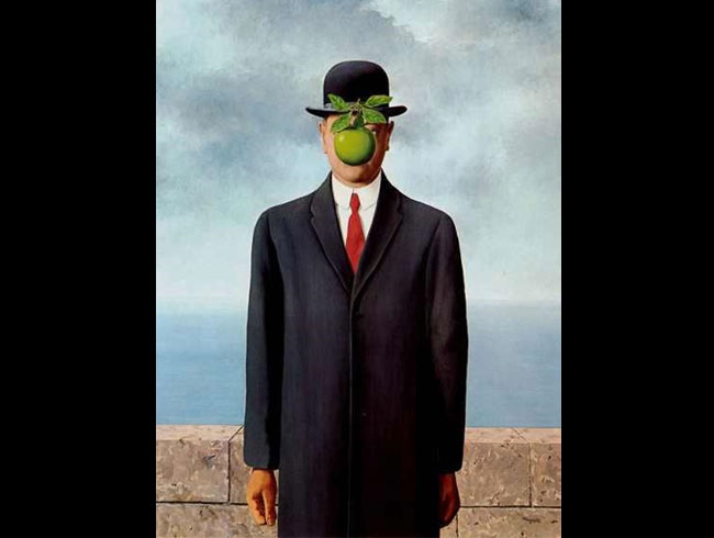 Rene Magritte, <em>Son Of Man</em>