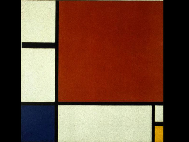Piet Mondrian, <em>Composition II in Red, Blue, and Yellow</em>