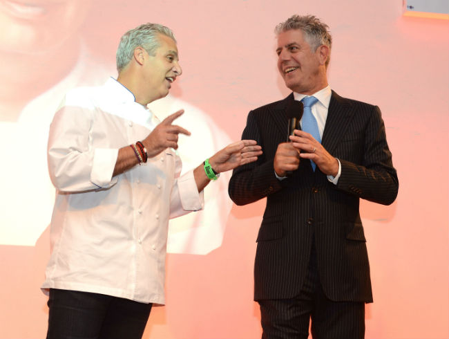 Tony And Eric Ripert Covering