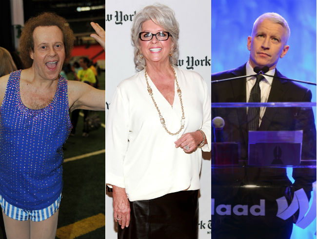 Paula Deen and Richard Simmons | Anderson Cooper on Jazz Flute and Paula Dean with Sultry Torch Vocals
