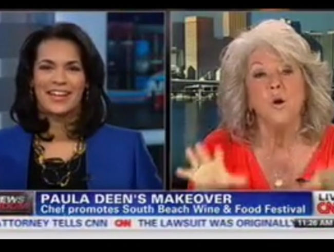 That time everyone thought she showed up to a CNN segment drunk...