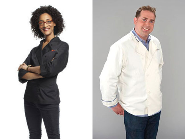 Honorable Mention: Carla Hall and Ed Cotton