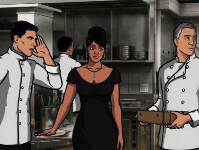 WATCH: Anthony Bourdain's Fake <em>Archer</em> Show, 'Bastard Chef'