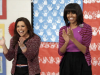 WATCH: Michelle Obama And Rachael Ray Hand Out Golden Trays In Mississippi