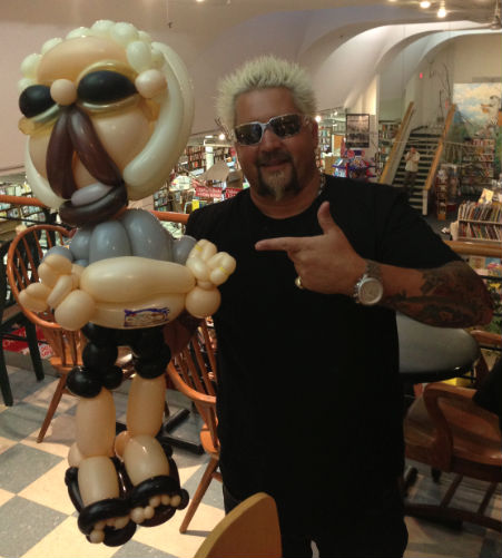 Guy Fieri's Fans Are Even More Guy Fieri Than Guy Fieri