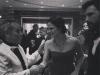 With Jennifer Garner and Ben Affleck
