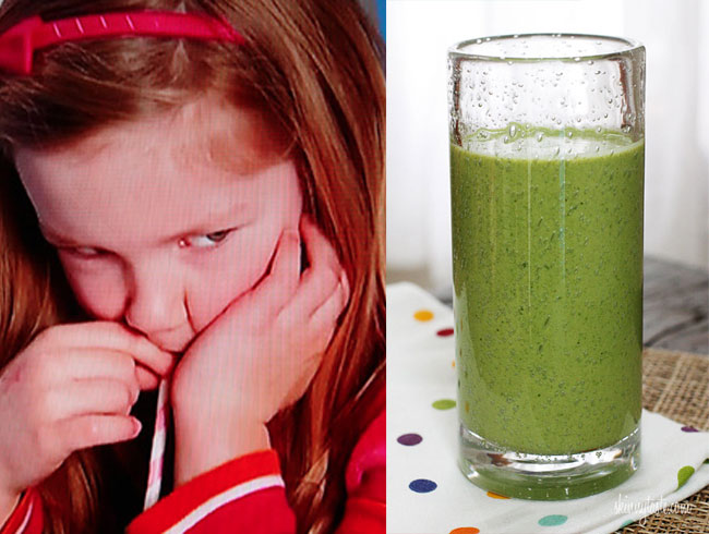 Nikki's Kale, Spinach and Banana Smoothie For The Children