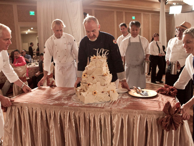 Art Smith's Leaning Tower Of Wedding Cake
