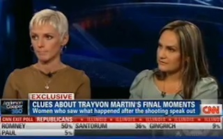 Anderson Cooper Interviews Witnesses To Trayvon Martin