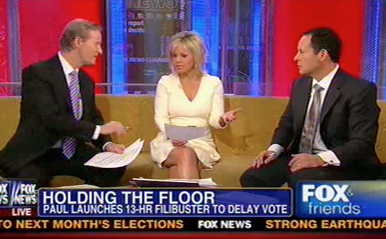 Fox & Friends Hosts Clash Over Constitutionality Of Drone ...