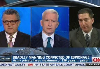 Greenwald Tears Into Toobin Over Manning, Snowden: You're Calling For 'End Of Investigative Journalism'