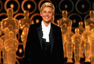 Ellen Opens Oscars with Old School, Hilariously Biting Monologue