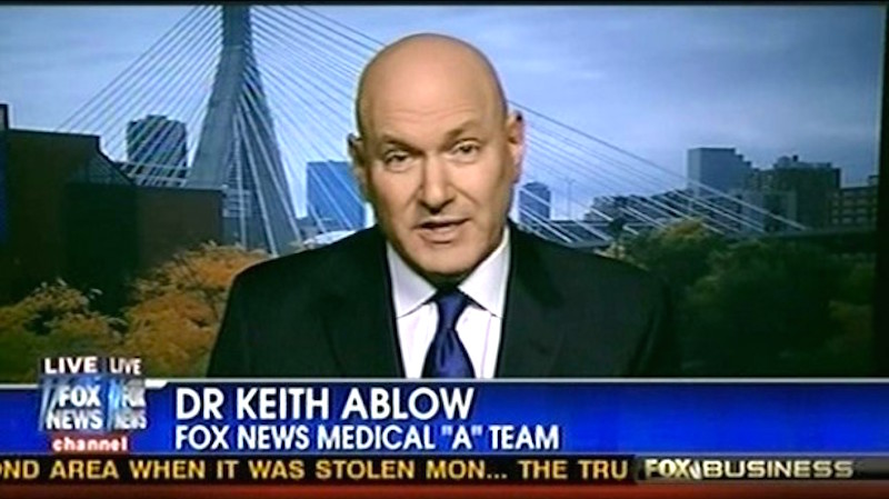 Fox's Keith Ablow Doubles Down on Psychoanalyzing Obama as a 'Narcissist' |  Mediaite