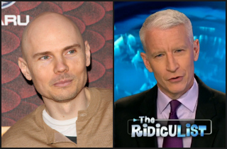 Best Feud Ever? CNN's Anderson Cooper Versus Billy Corgan