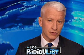 Anderson Cooper Delivers Hilarious Response to 'Gay Agenda'-Obsessed Pastor