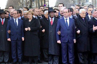 Ultra-Orthodox Jewish Newspaper Edits Female World Leaders Out of Charlie Hebdo March