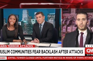 CNN Anchors Press Muslim Guest on 'Responsibility' of Muslims in Wake of Paris Attack