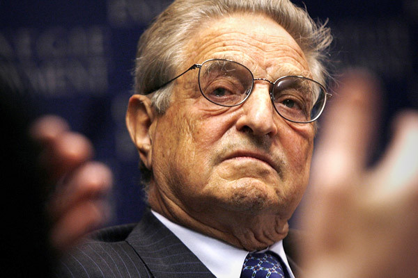 Explosive device found at home of George Soros