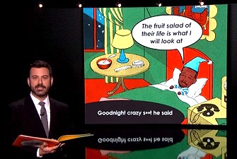 Jimmy Kimmel Closes Out Ben Carson with Hilarious 'Goodnight, Ben' Book Parody
