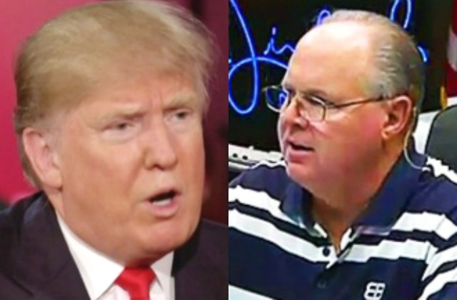 Caller to Limbaugh Show Exposes That Rush Knows He Blew It with Donald Trump