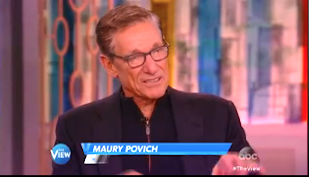 WATCH: In Honor of 3000 Episodes of Maury, its Host went on the View