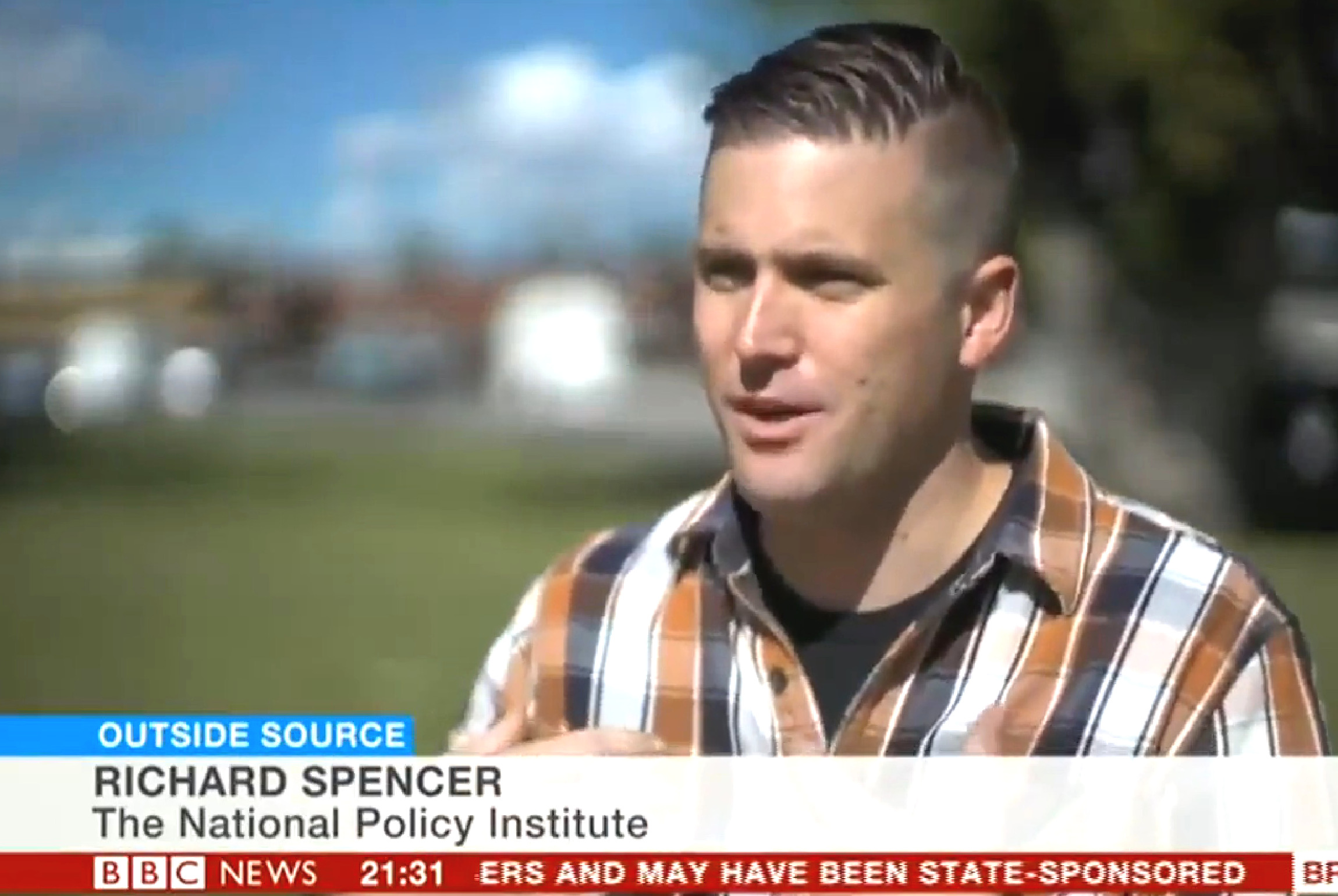 Richard spencer white house - White Nationalist Tells Reporter Donald Trump S Arrow Is Pointing In Our Direction Mediaite
