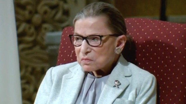Ruth Bader Ginsburg Undergoes Surgery for Early Stage Lung Cancer